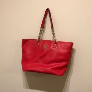 Dooney & Bourke Bags - Amazing red Dooney and Bourke tote great for work